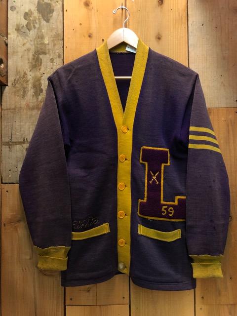 10月16日(水)大阪店ヴィンテージ入荷!!#2 Award Knit編!! LetteredCardigan & AthleticSweater!!_c0078587_2047239.jpg