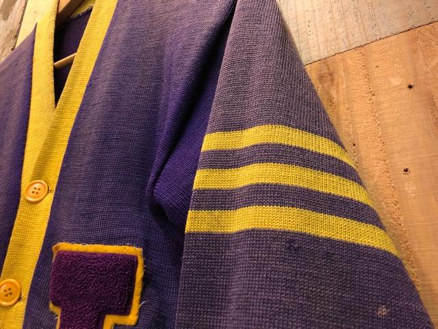 10月16日(水)大阪店ヴィンテージ入荷!!#2 Award Knit編!! LetteredCardigan & AthleticSweater!!_c0078587_21445999.jpg