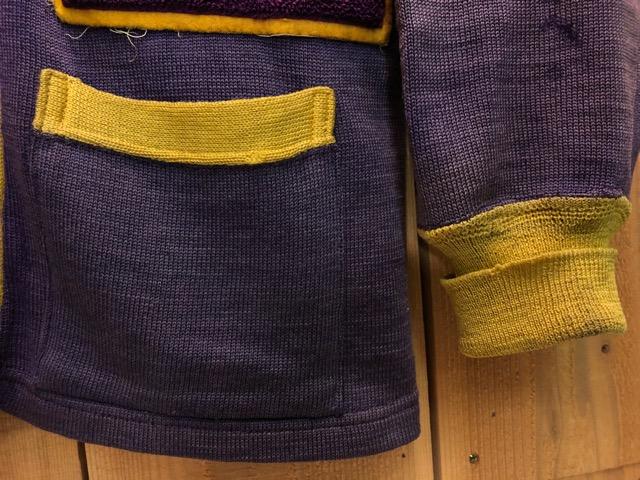 10月16日(水)大阪店ヴィンテージ入荷!!#2 Award Knit編!! LetteredCardigan & AthleticSweater!!_c0078587_21452936.jpg