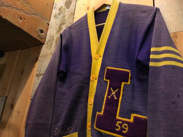 10月16日(水)大阪店ヴィンテージ入荷!!#2 Award Knit編!! LetteredCardigan & AthleticSweater!!_c0078587_21453641.jpg