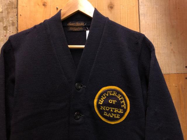 10月16日(水)大阪店ヴィンテージ入荷!!#2 Award Knit編!! LetteredCardigan & AthleticSweater!!_c0078587_21471630.jpg