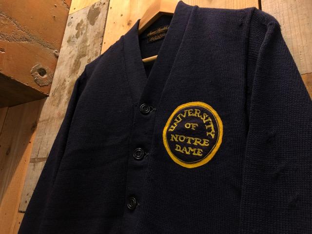 10月16日(水)大阪店ヴィンテージ入荷!!#2 Award Knit編!! LetteredCardigan & AthleticSweater!!_c0078587_21474743.jpg