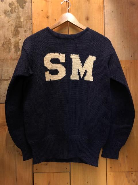 10月16日(水)大阪店ヴィンテージ入荷!!#2 Award Knit編!! LetteredCardigan & AthleticSweater!!_c0078587_21482812.jpg