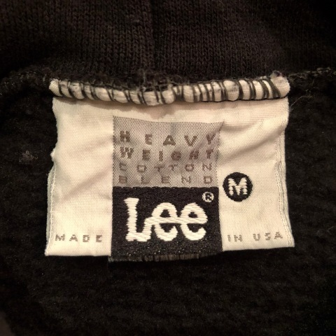 "1980s "" Lee \"" CLASSIC 50/50 HEAVY WEIGHT P/O SWEAT PARKA - BLACK - ._d0172088_21451811.jpg"