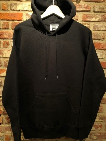 "1980s "" Lee \"" CLASSIC 50/50 HEAVY WEIGHT P/O SWEAT PARKA - BLACK - ._d0172088_21542737.jpg"