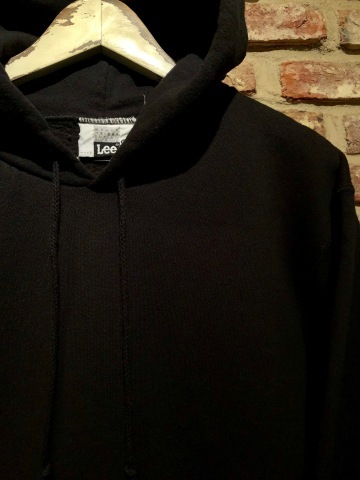 "1980s "" Lee \"" CLASSIC 50/50 HEAVY WEIGHT P/O SWEAT PARKA - BLACK - ._d0172088_21563192.jpg"