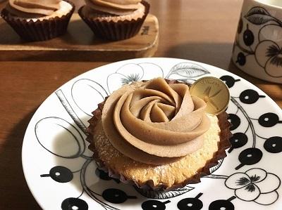 カップケーキで簡単モンブラン♪ - la la la kitchen 2 ♪