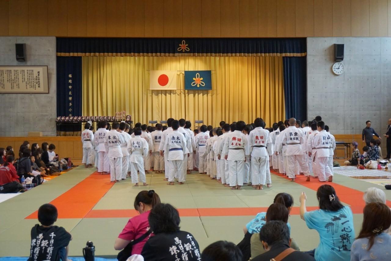 2019  櫛田神社秋季大祭奉納少年柔道大会_b0172494_21230295.jpg