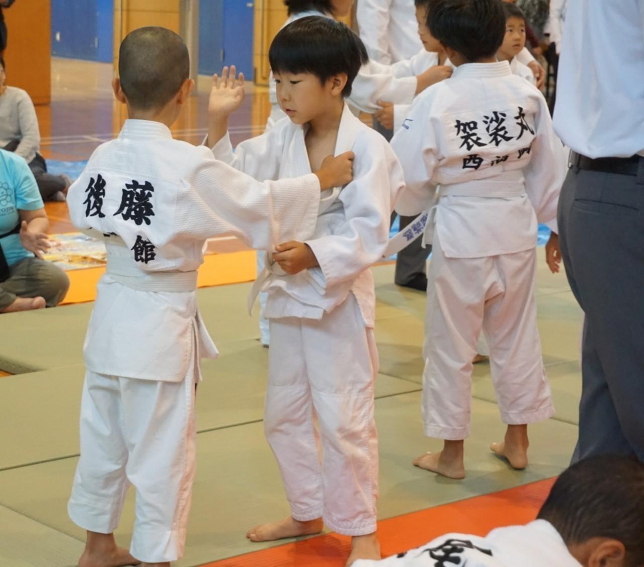 2019  櫛田神社秋季大祭奉納少年柔道大会_b0172494_21230377.jpg
