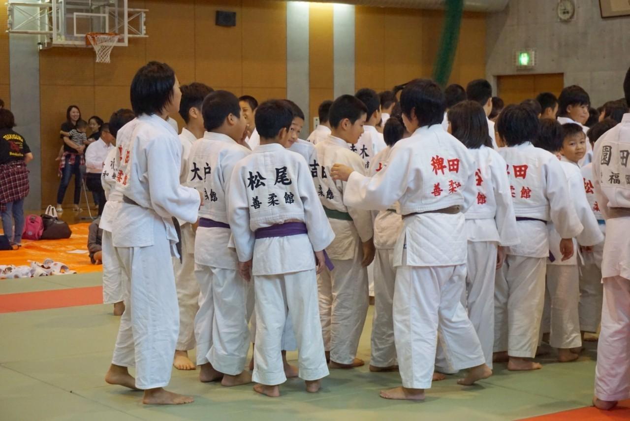 2019  櫛田神社秋季大祭奉納少年柔道大会_b0172494_21240832.jpg