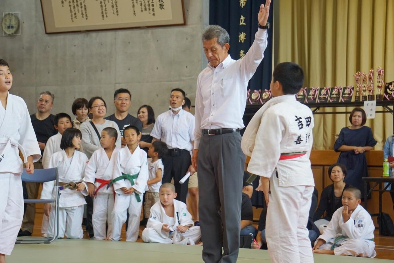 2019  櫛田神社秋季大祭奉納少年柔道大会_b0172494_21310705.jpg