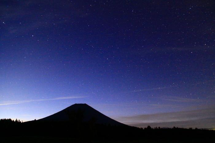 令和元年10月の富士(9)朝霧高原星空と富士_e0344396_16090143.jpg