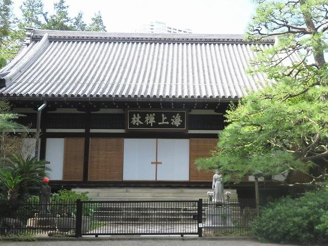 東 禅 寺(新江戸百景めぐり㊸)_c0187004_19544182.jpg