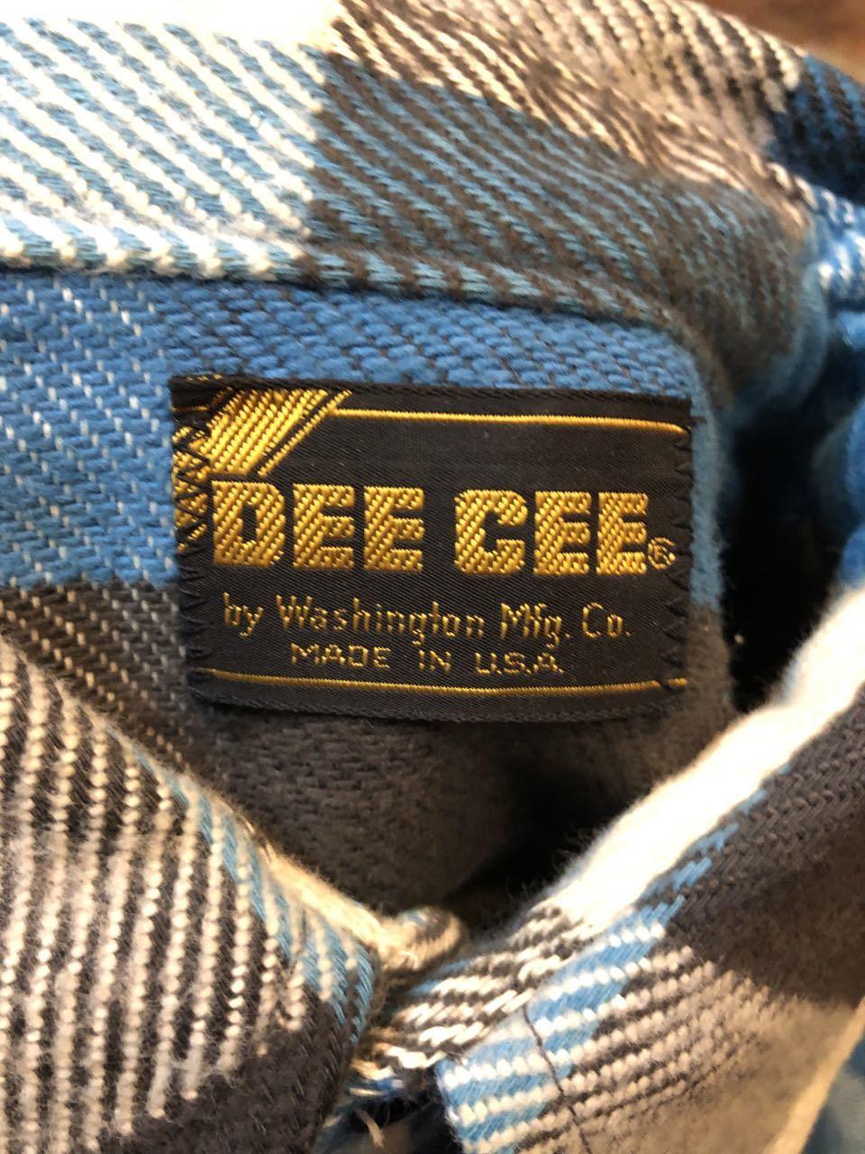 10月14日(月)入荷!70s~デッドストック DEE CEE ネルシャツ!_c0144020_14481588.jpg