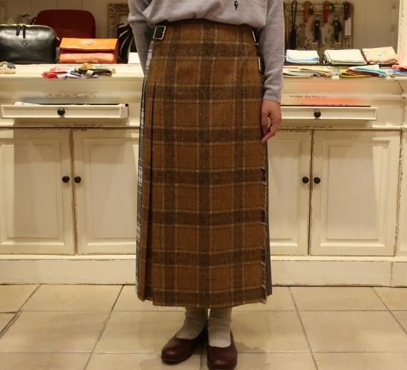 2019年オニールオブダブリン パッチワーク3個ベルトキルトスカートです。_c0227633_12094838.jpg