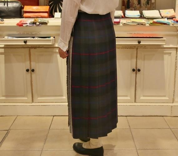 2019年オニールオブダブリン パッチワーク3個ベルトキルトスカートです。_c0227633_12120942.jpg