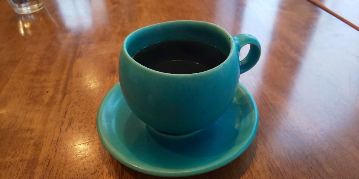 雨の日はホットコーヒーでほっこり 新松戸 foocafe_c0064859_17283446.jpg