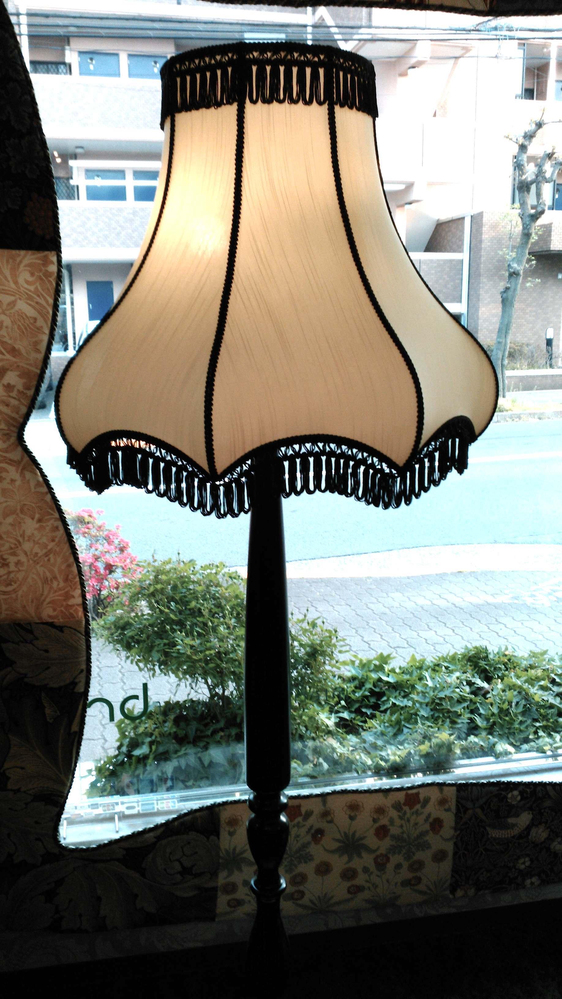 フロアスタンド用 ランプシェード張替 ウィリアムモリス正規販売店のブライト_c0157866_17035849.jpg