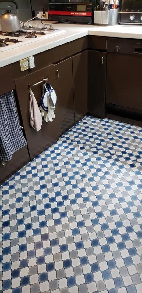 床の張り替えでキッチン模様替え♪_a0077673_10394363.jpg