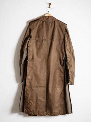"MAKE OVER ""FORCIBLE TRENCH COAT\""_d0160378_18261077.jpg"
