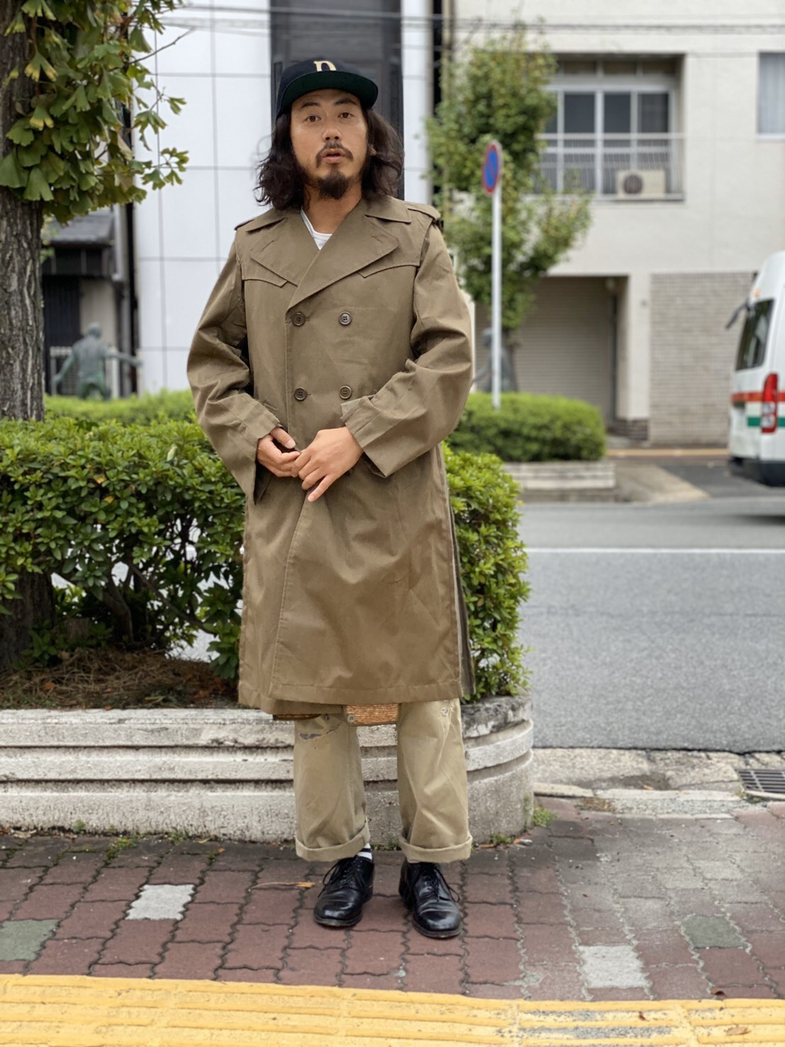 "MAKE OVER ""FORCIBLE TRENCH COAT\""_d0160378_18300821.jpg"