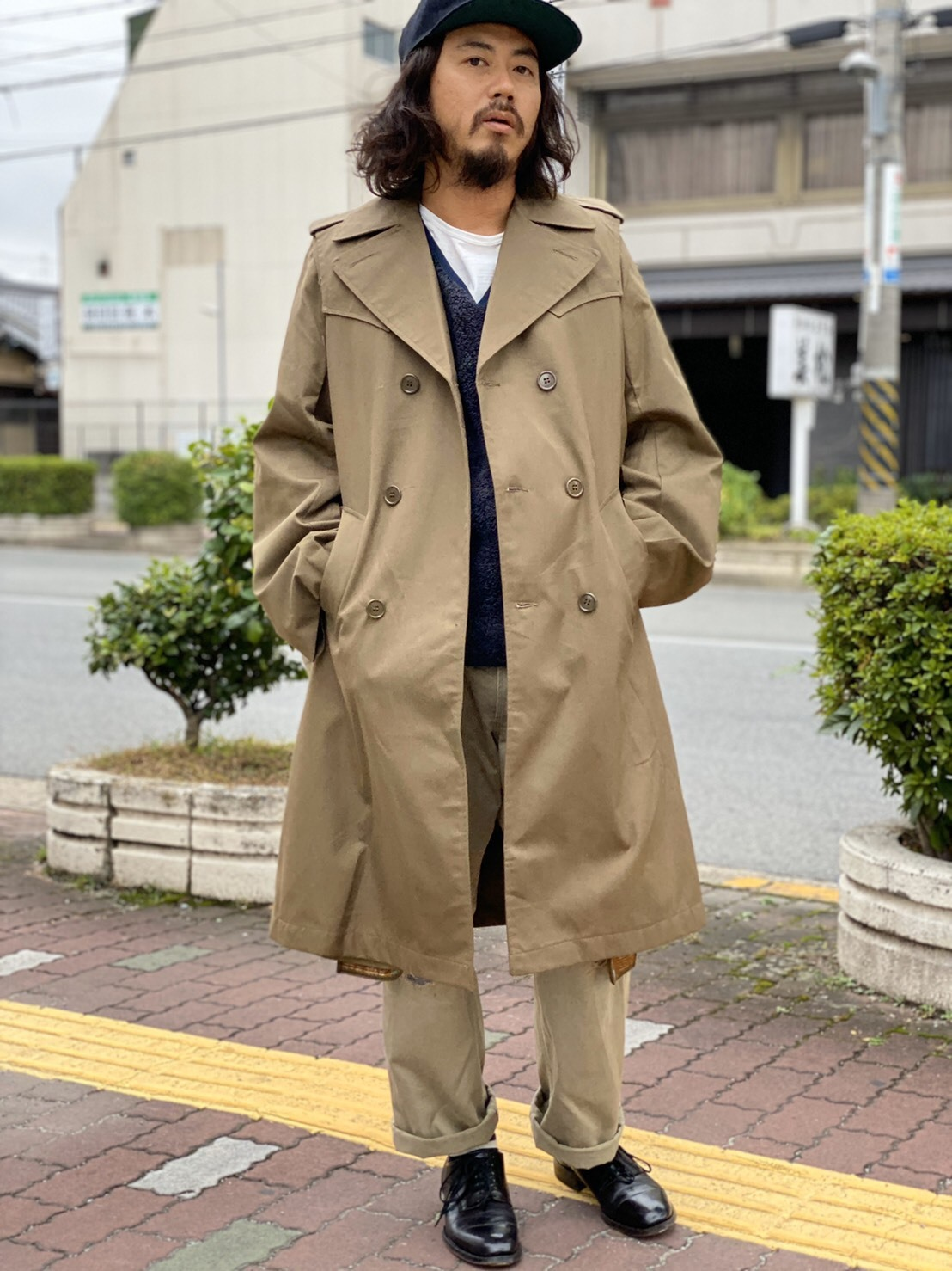 "MAKE OVER ""FORCIBLE TRENCH COAT\""_d0160378_18300858.jpg"