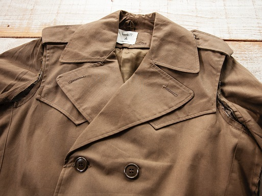"MAKE OVER ""FORCIBLE TRENCH COAT\""_d0160378_18303732.jpg"