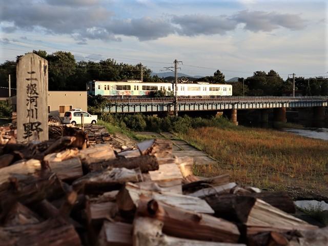 藤田八束の鉄道写真@青い森鉄道とカシオペアそして貨物列車が元気いっぱい・・・八村塁頑張れ若きエースに日本からエール_d0181492_22291077.jpg