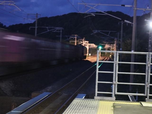 藤田八束の鉄道写真@青い森鉄道とカシオペアそして貨物列車が元気いっぱい・・・八村塁頑張れ若きエースに日本からエール_d0181492_22293636.jpg