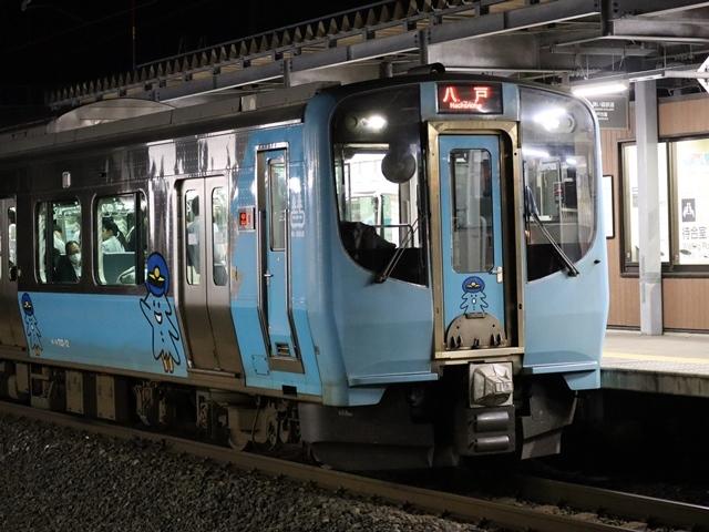 藤田八束の鉄道写真@青い森鉄道とカシオペアそして貨物列車が元気いっぱい・・・八村塁頑張れ若きエースに日本からエール_d0181492_22301273.jpg