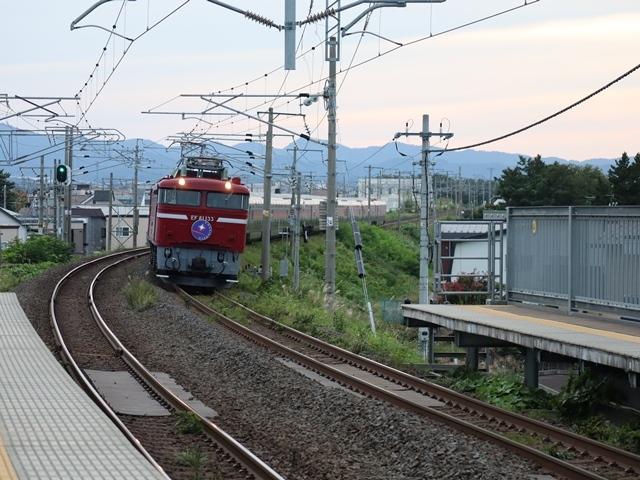 藤田八束の鉄道写真@青い森鉄道とカシオペアそして貨物列車が元気いっぱい・・・八村塁頑張れ若きエースに日本からエール_d0181492_22322063.jpg