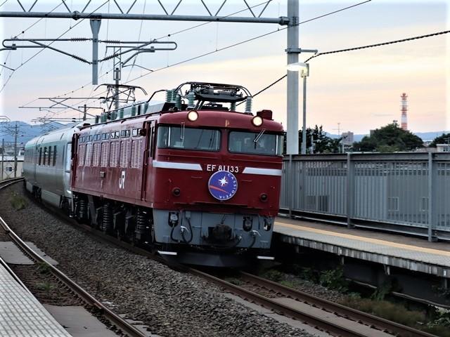 藤田八束の鉄道写真@青い森鉄道とカシオペアそして貨物列車が元気いっぱい・・・八村塁頑張れ若きエースに日本からエール_d0181492_22322884.jpg