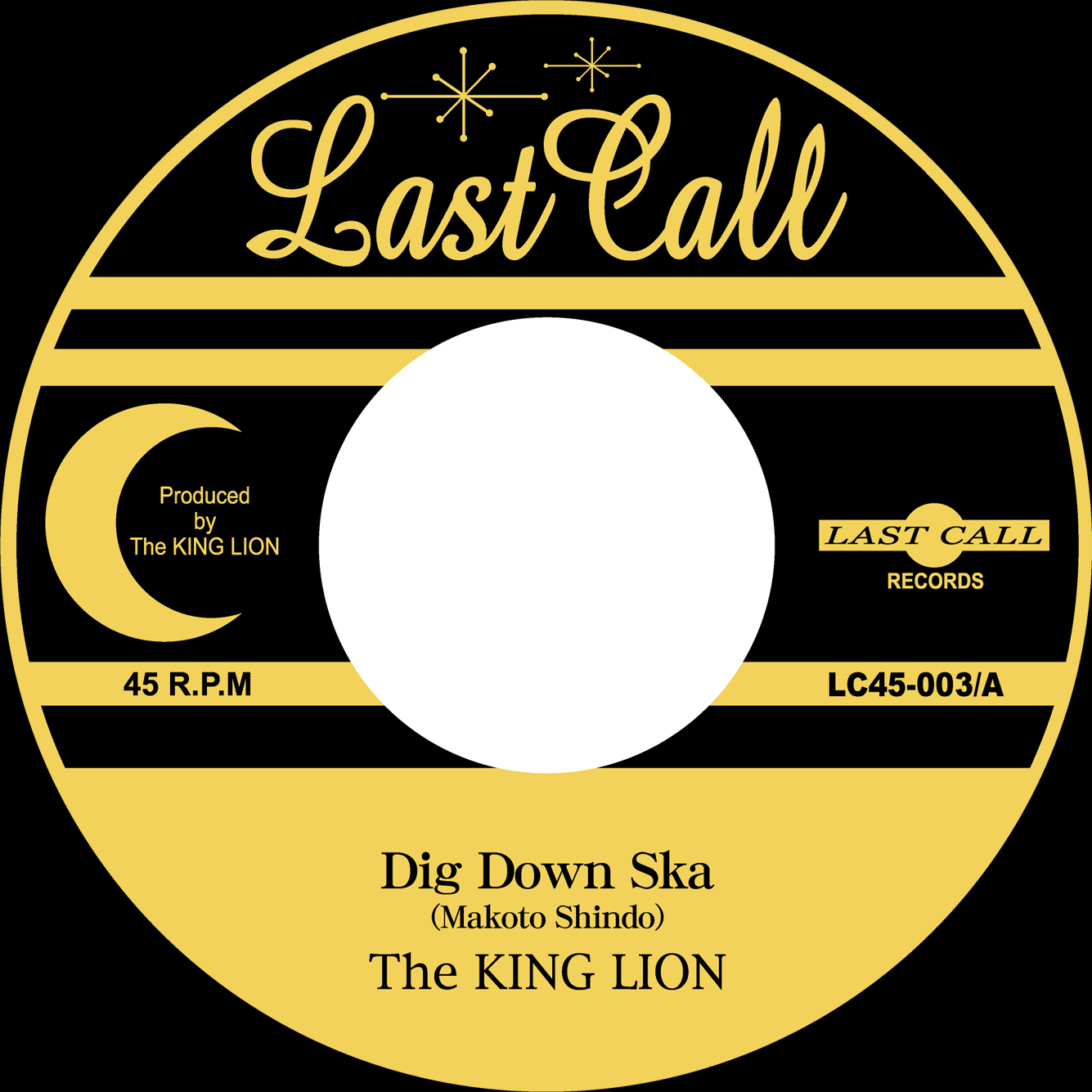 "The KING LION 20周年記念フルCDアルバム""BLANK\"" & \""New 7inch 2titles\"" 2019/11/27 Release!_e0314002_15463259.jpg"