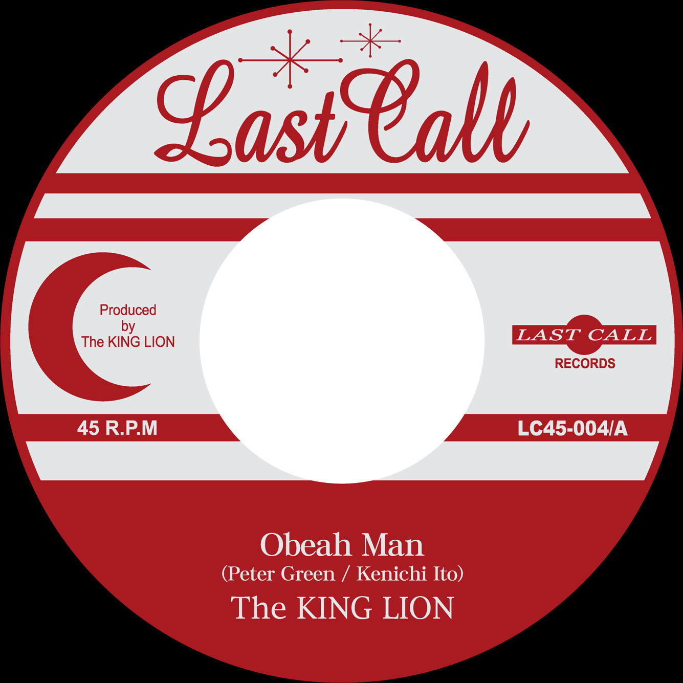 "The KING LION 20周年記念フルCDアルバム""BLANK\"" & \""New 7inch 2titles\"" 2019/11/27 Release!_e0314002_15465434.jpg"