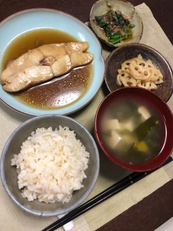 カレイの煮付け_d0235108_20144145.jpg