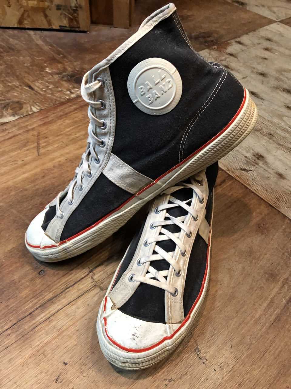 10月15日(火)入荷! 50s VINTAGE   BALLBAND CANVAS SHOES !_c0144020_18052681.jpg