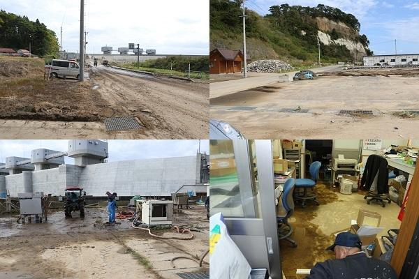 台風19号 野田村も復旧作業中!_c0259934_16382011.jpg