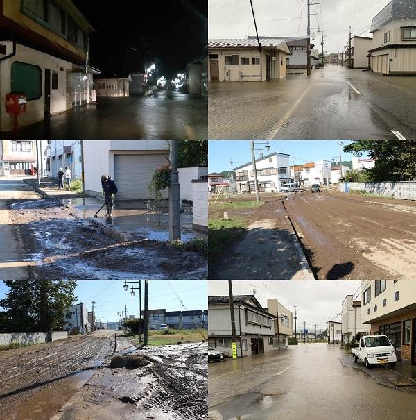 台風19号 野田村も復旧作業中!_c0259934_16382051.jpg