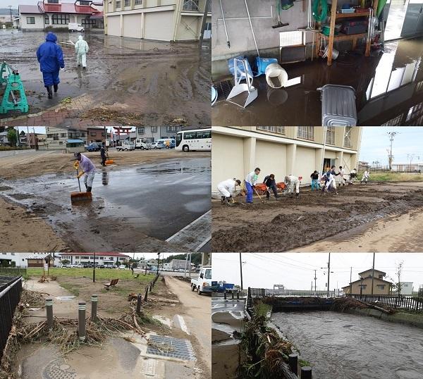 台風19号 野田村も復旧作業中!_c0259934_16451065.jpg