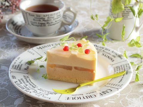 日々のお菓子作り~リンゴとキャラメルのムース_c0213947_17434681.jpg