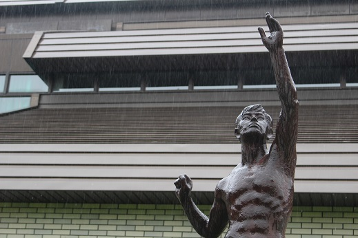 街角美術館 帯広美術館、百年記念館で出会った彫刻_f0362073_17032720.jpg