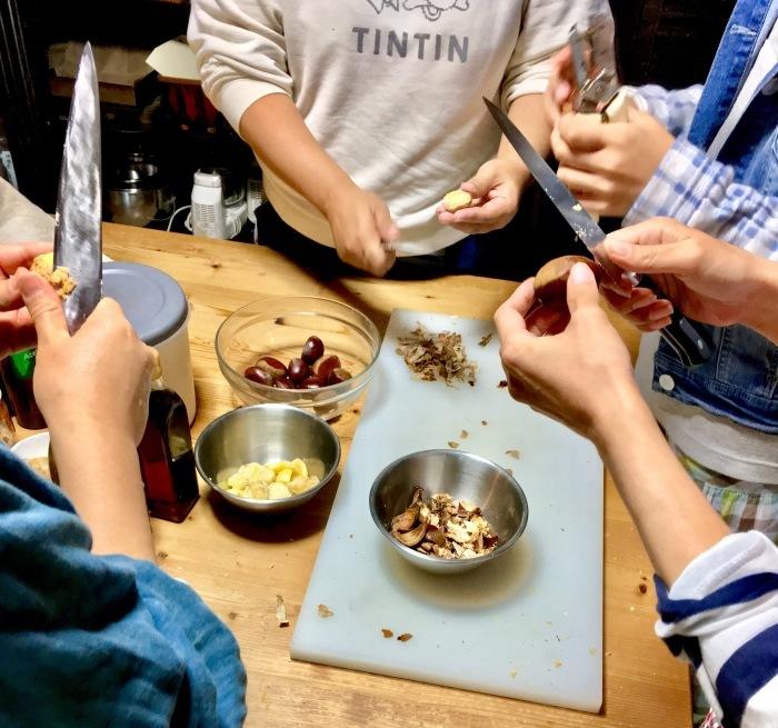 花背でお料理教室〜10月・お料理〜のご報告_b0057979_16154814.jpg