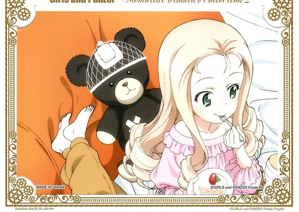 【漫画で雑記】ガルパンのプロマイドガチャを10枚分まわす(メモリアルプロマイドコレクション2)_f0205396_09283687.jpg