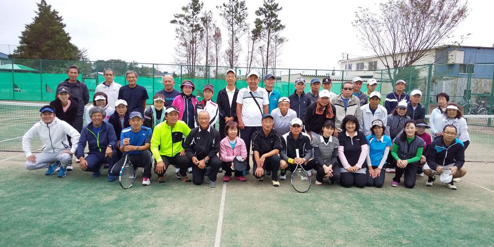鎌ヶ谷テニスクラブとの親善試合_b0114798_18542701.jpg