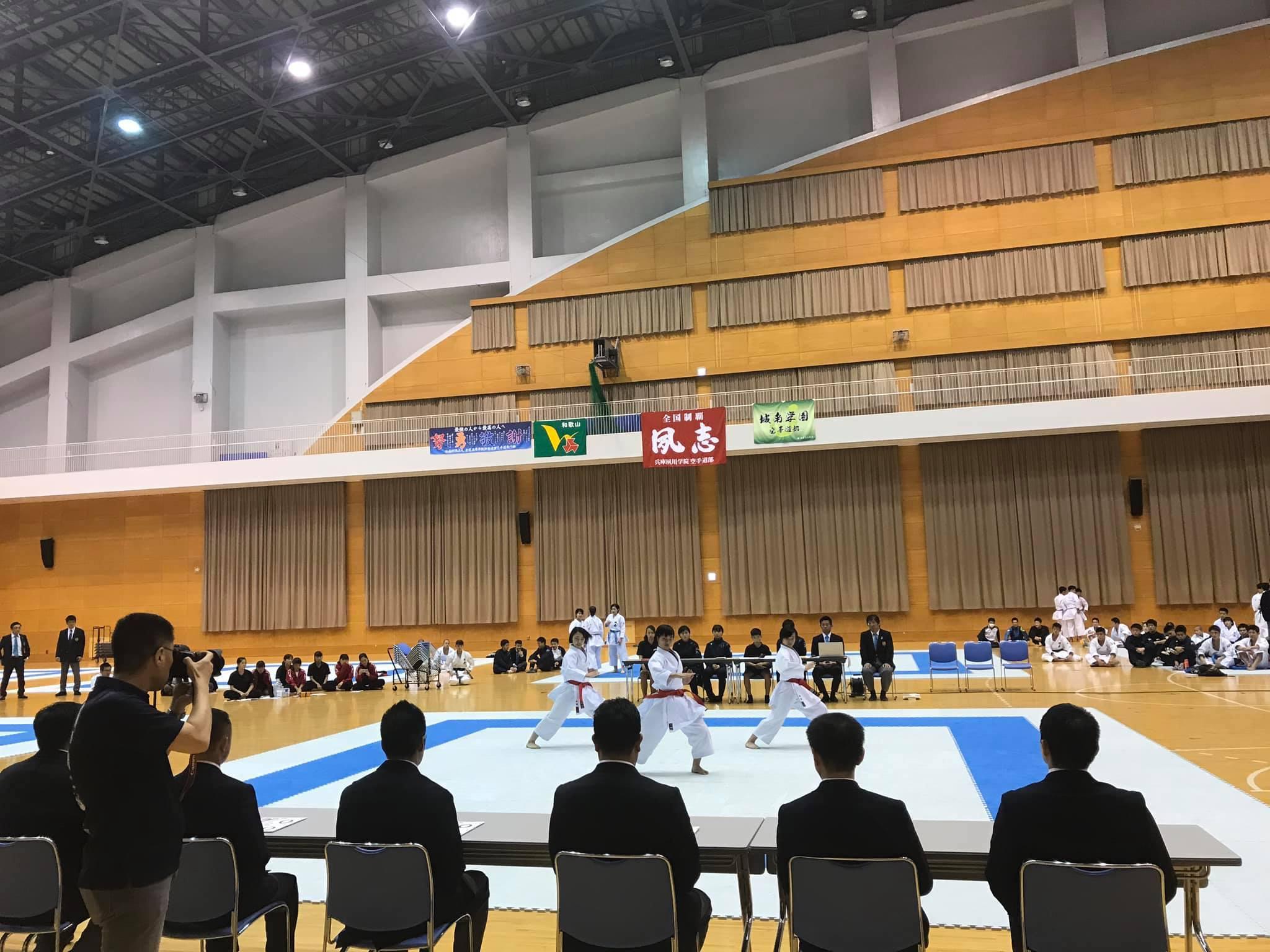 第1回パンダ杯全国高等学校空手道形競技錬成大会_e0238098_15394206.jpg
