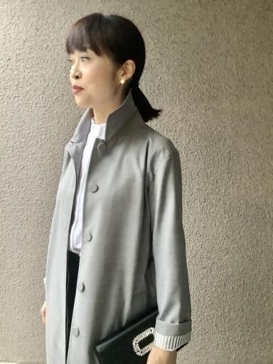 りえさん着画集・ウールスプリングコート_b0210699_00061108.jpeg