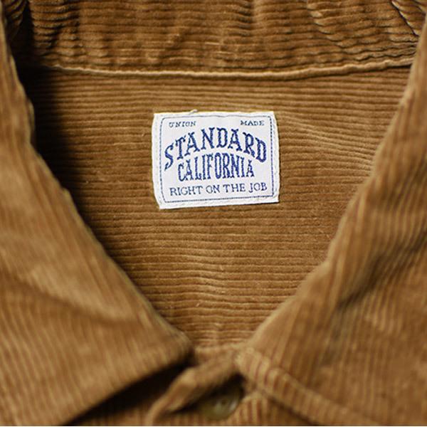 【DELIVERY】 STANDARD CALIFORNIA - Stretch Corduroy Shirt_a0076701_14261599.jpg