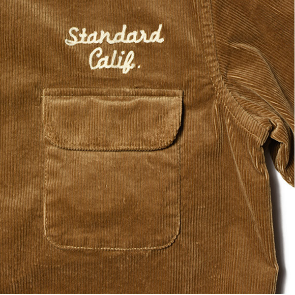 【DELIVERY】 STANDARD CALIFORNIA - Stretch Corduroy Shirt_a0076701_14262483.jpg