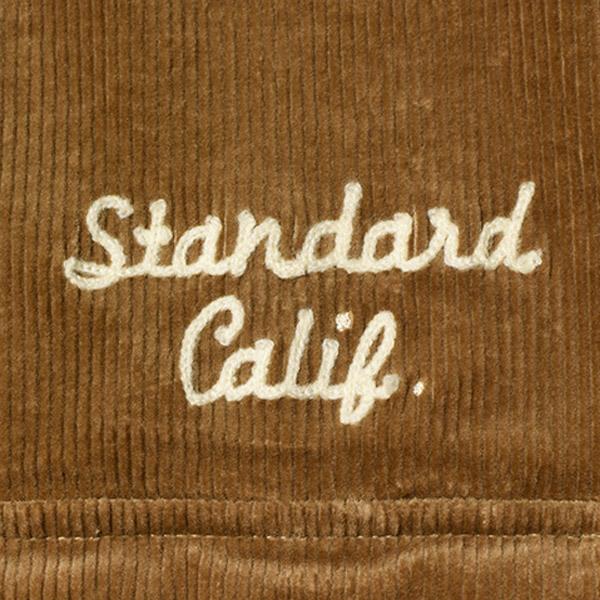 【DELIVERY】 STANDARD CALIFORNIA - Stretch Corduroy Shirt_a0076701_14263511.jpg