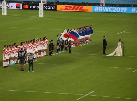2019年9月20日ラグビーワールドカップ、日本対ロシアを見て感激_c0242406_10583567.jpg